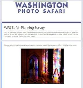 WPS Planning Survey