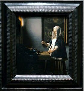 Woman with a Balance Vermeer