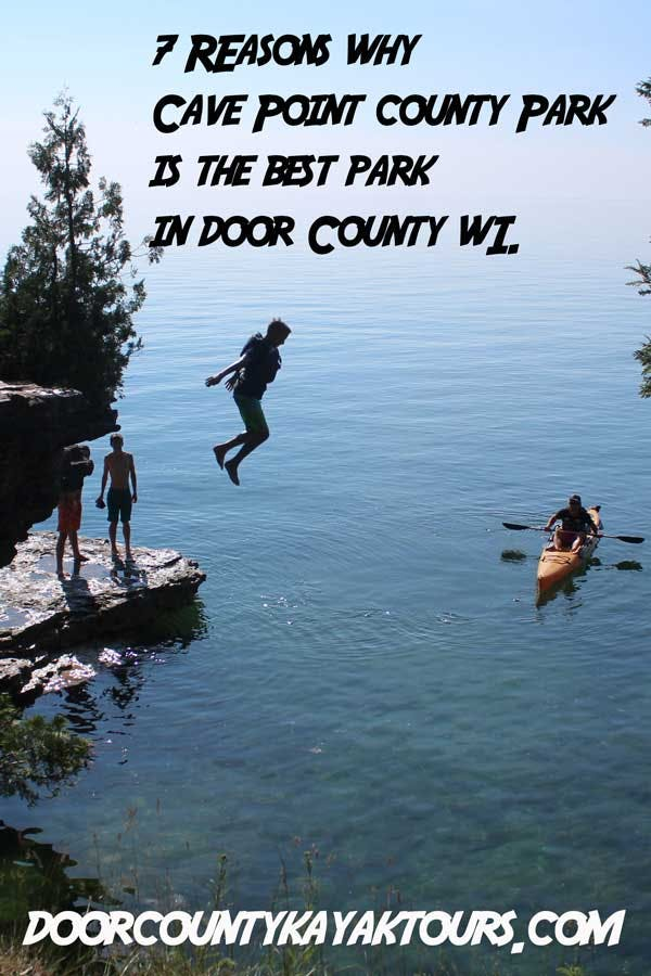 7 Reasons Why Cave Point County Park Is The Best Park