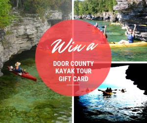 Door County Gift Certificate Giveaway for kayak tour and ebike tour!