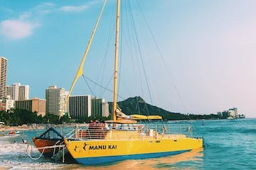 Manu Kai catamaran honolulu