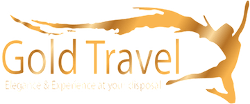gold travel logo