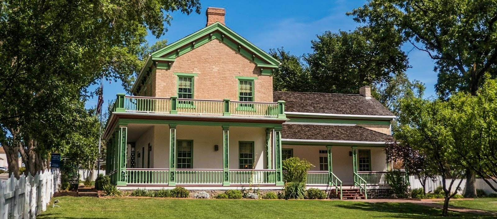Brigham Young's Winter Home open for tours year-round, especially in the winter.