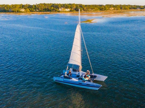 Salt Marsh Sailboat