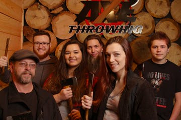 Kersey Valley Axe Throwing group
