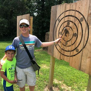 outdoor axe throwing in Greensboro