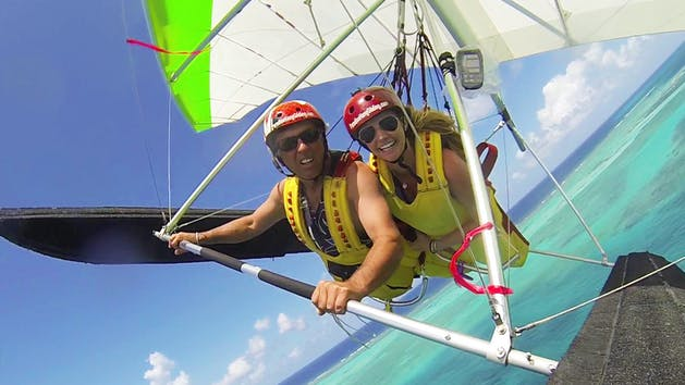 Hang gliding lessons in St. Croix, USVI