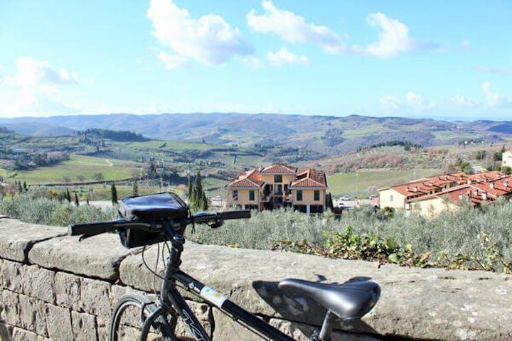 Hills of Chianti region