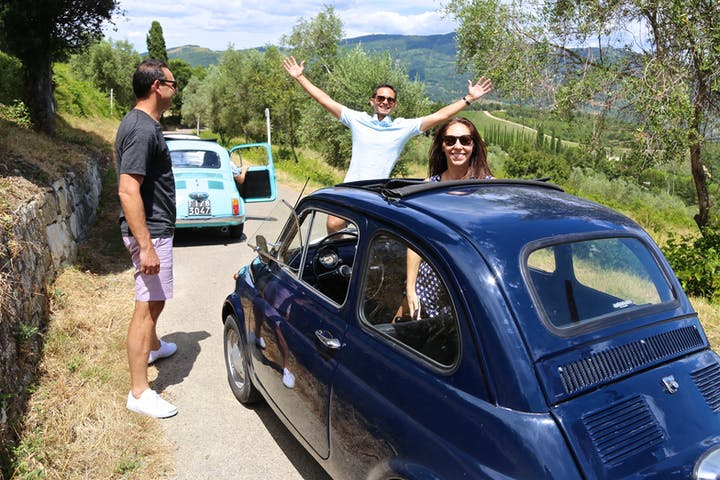Full Day - Grand Tuscan Driving Tour