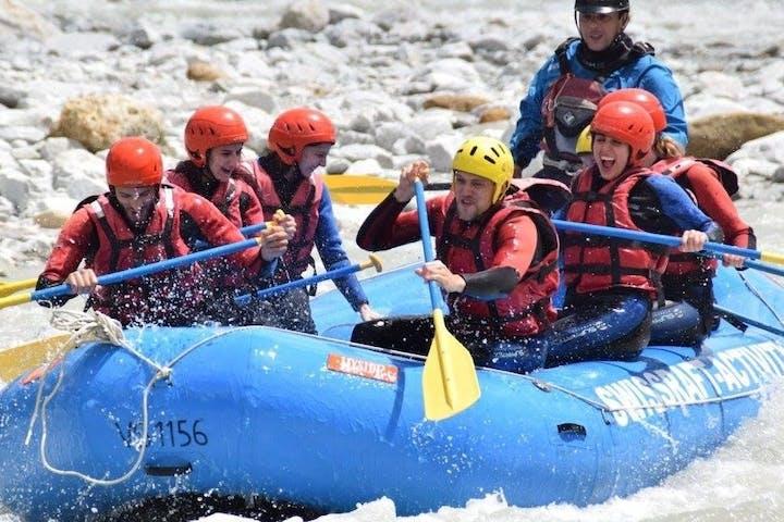 Rhône Découverte rafting trip