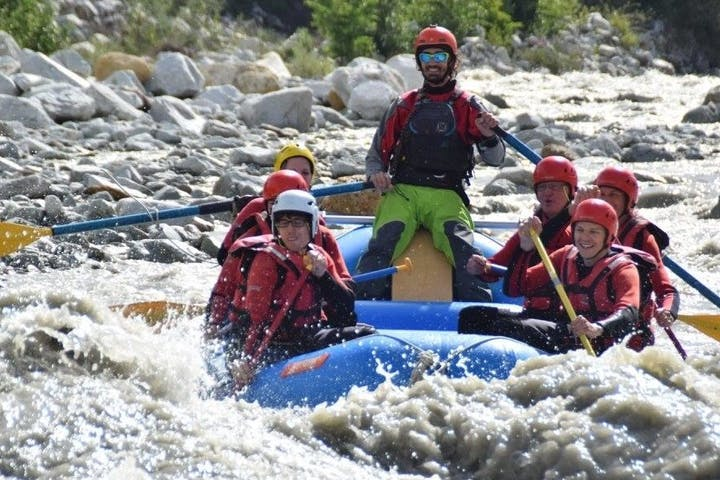 Rafting in Vispa trip