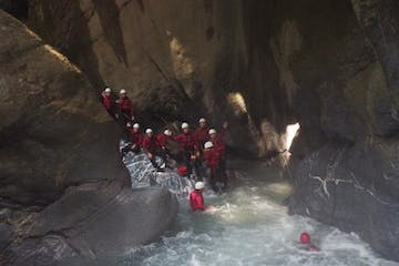 canyoning in Morge trip