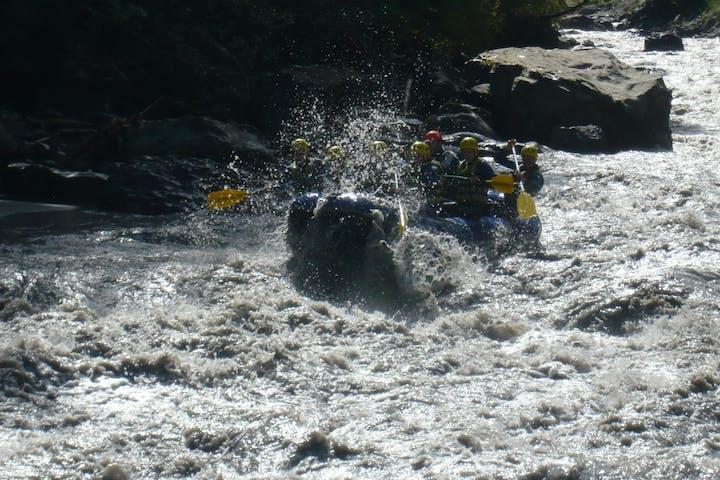 Lutschine rafting trip