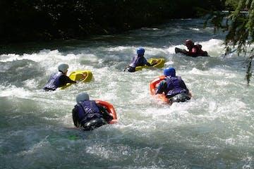 Hydrospeed Sauvage trip in Switzerland