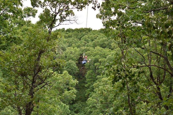 Treetop Flyer Zipline Adventure Eco Adventure Ziplines