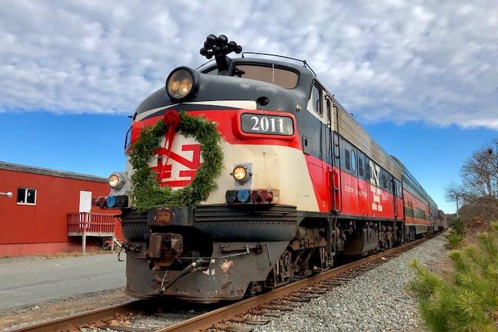 Christmas Train | Cape Cod Central Railroad