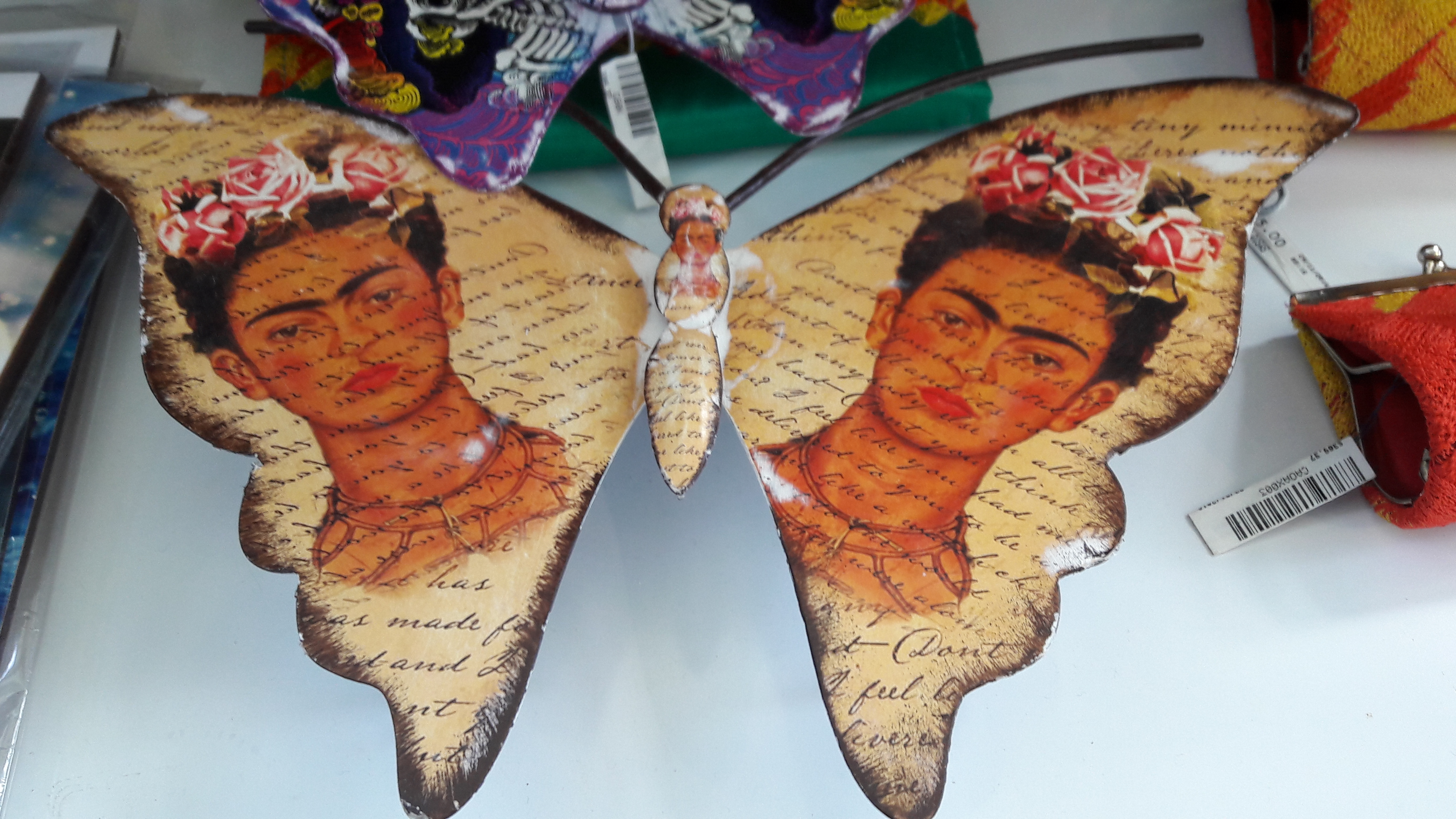 Frida Kahlo Discover Mexico giftshop
