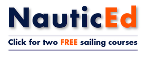 Get two free sailing courses through NauticEd graphic