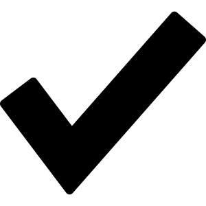 Checkmark Icon by Flaticon