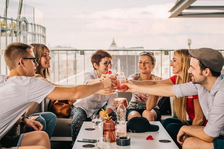 Budapest Cocktail Toast