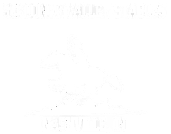 Schooner Valley Stables logo white