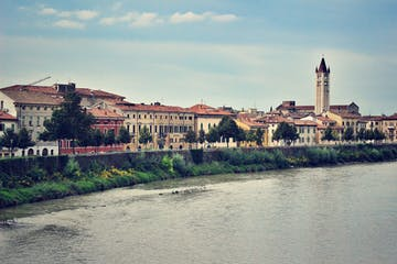 The river side in Verona