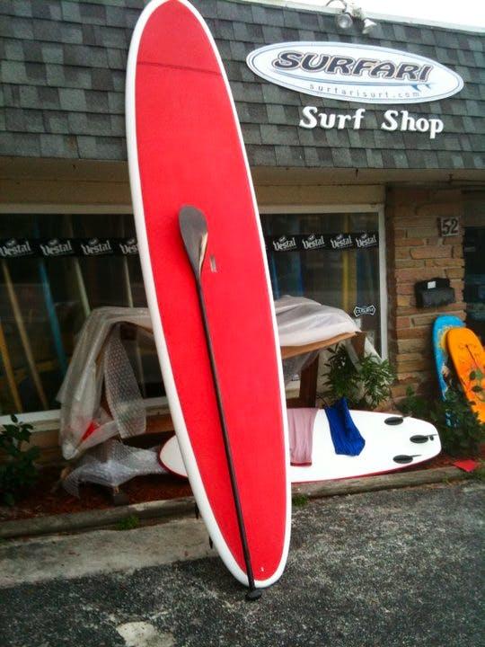 Surfari storefront in Daytona Beach, Florida