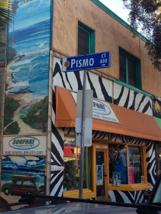Surfari storefront in San Diego, California
