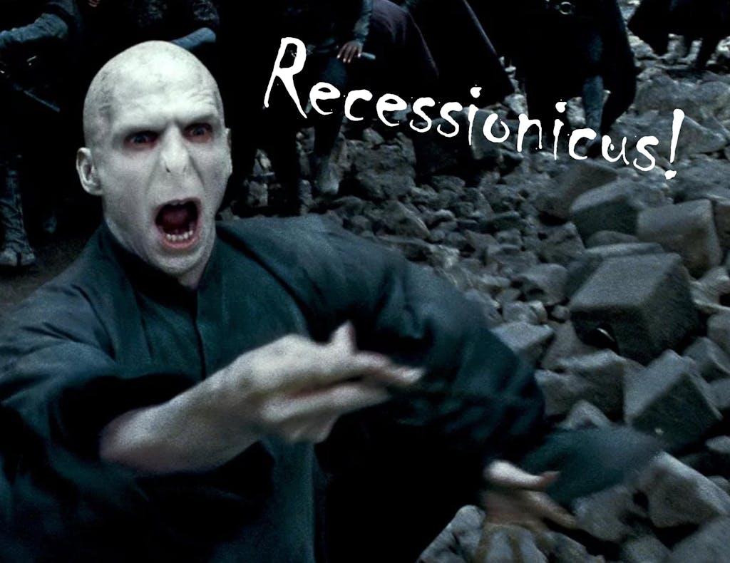 Voldemort recession graphic