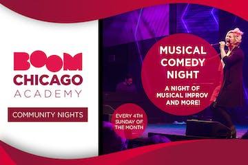 Comedy community nights academy
