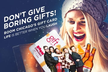 Boom Chicago-giftcard