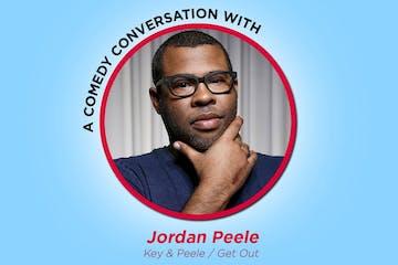 Jordan Peele wearing sunglasses