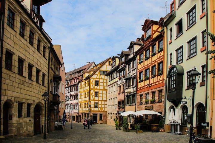 A street in Nürnberg
