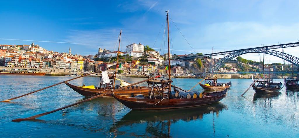 Porto-Portugal-Boats