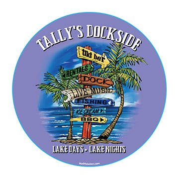 Tally's Dockside graphic
