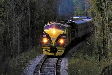 yellow train