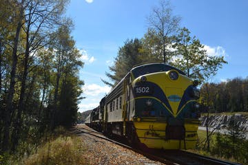 1502 yellow train