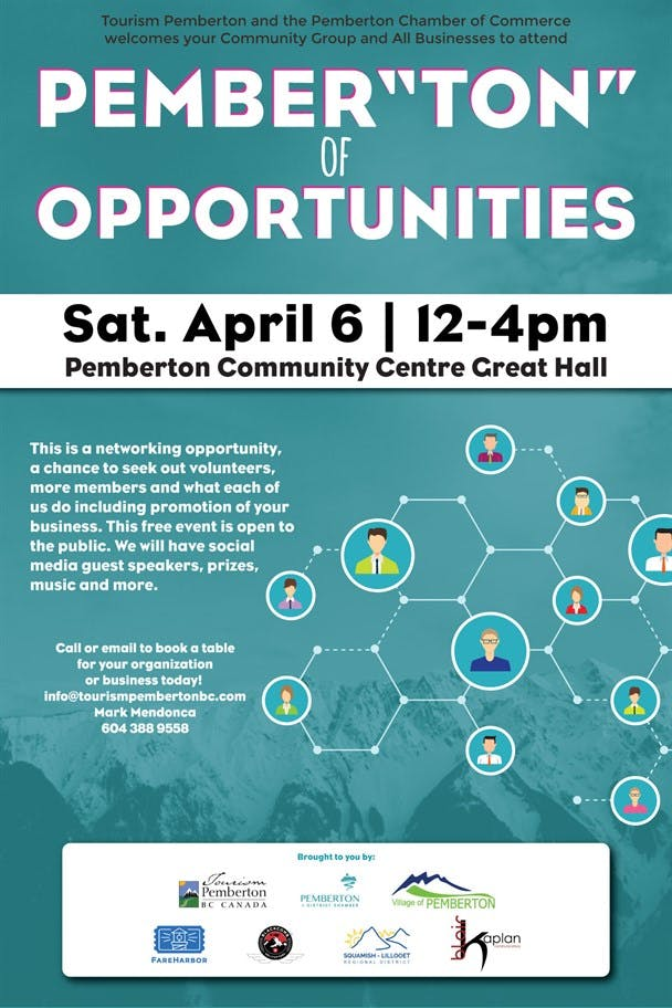 "Pember""ton"" of Opportunities poster"
