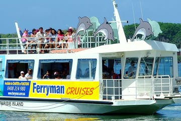 Ferryman Cruise captain's lunch