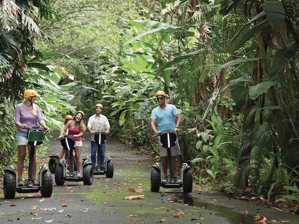ziplining hawaii botanical world adventures