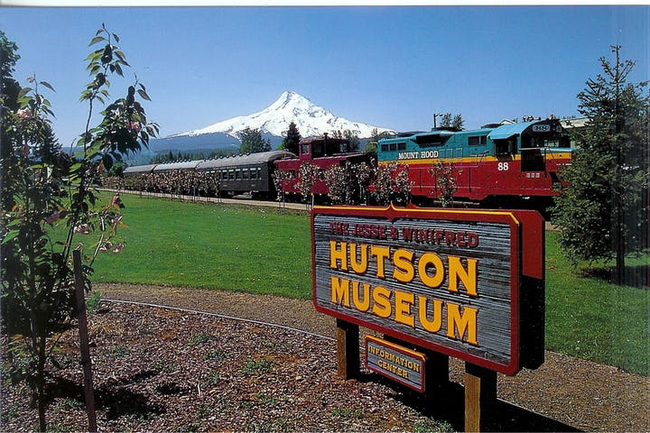 hutson museum sign