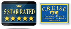 5 Star Rated Cruise Logo