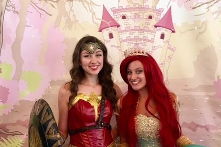 princess and superhero