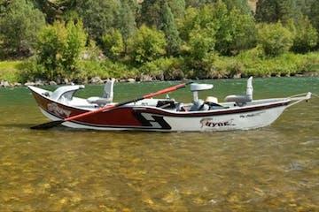A drift boat