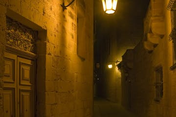 Eerie alleyway