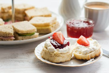 scones at afternoon tea
