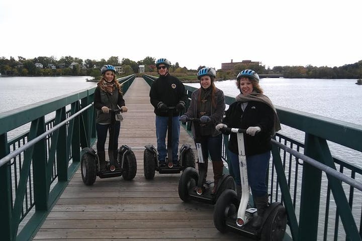 Segway riders near Port Dalhousie