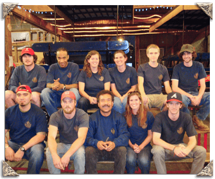 Palmetto barn staff