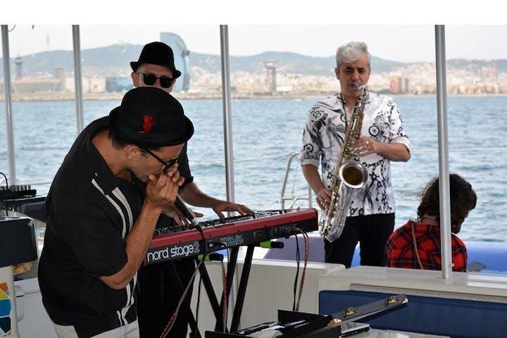 Banda de música en directo