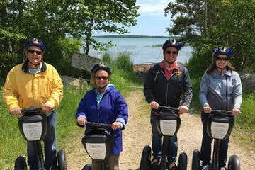 Group on Segways Washington Island